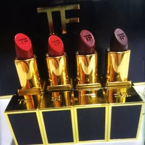 Tom Ford lip color 4 lipsticks set new